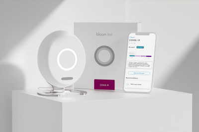 Innovative medtech company scoops world renowned design award for smart home testing device